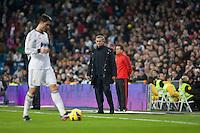 Mourinho looking Cristiano Ronaldo