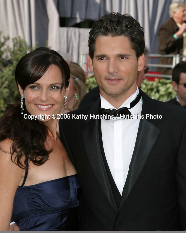 Eric Bana & wife.78th Academy Award Arrivals.Kodak Theater.Hollywood, CA.March 5, 2006.©2006 Kathy Hutchins / Hutchins Photo....