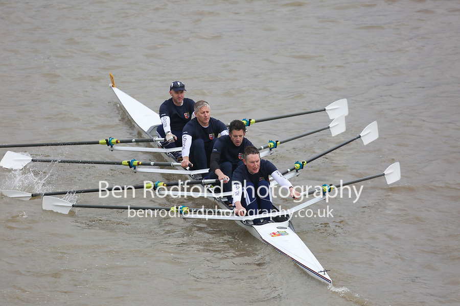 Crew: 32   London   D 4x<br /> <br /> Veteran Fours Head 2017<br /> <br /> To purchase this photo, or to see pricing information for Prints and Downloads, click the blue 'Add to Cart' button at the top-right of the page.
