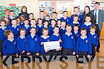 Pupils at Raheen National School who raised over 1,500 for charity organisation, Bothar.