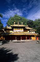 Summer Palace in Lhasa Tibet, Norbu Lingka