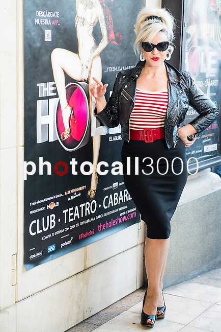 Teatro La Latina. Madrid. Spain. 13/05/2014.<br /> Press pass The Hole 2.