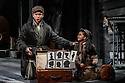 London, UK. 14.10.2016. Danielle Tarento, Steven M Levy, Sean Sweeney and Vaughan Williams present RAGTIME, at the Charing Cross Theatre. Directed by Thom Southerland, with lighting design by Howard Hudson. Picture shows:  Gary Tushaw (Tateh), Riya Viyas (Little Girl). Photograph © Jane Hobson.