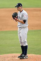 April 15, 2009:  Pitcher Jason Stephens of the Tampa Yankees, Florida State League Class-A affiliate of the New York Yankees, during a game at Space Coast Stadium in Viera, FL.  Photo by:  Mike Janes/Four Seam Images