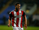 Cameron Carter-Vickers of Sheffield Utd during the Championship match at the Macron Stadium, Bolton. Picture date 12th September 2017. Picture credit should read: Simon Bellis/Sportimage
