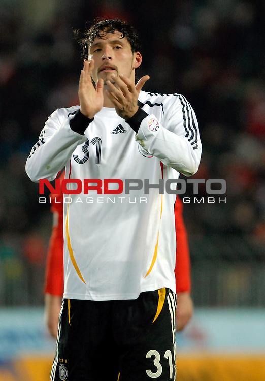 EM 06/07 Qualifikation Gruppe: D - <br /> Europameisterschafts-Endrunde<br /> <br /> Tschechien ( CZE ) - Deutschland ( GER ) 1 - 2<br /> <br /> Jubel nach dem Sieg:<br /> Kevin Kuranyi <br />  <br /> Foto :&copy; nph (nordphoto)  *** Local Caption ***