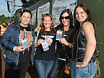 VIP's from Duleek, Anita Lynch, Susan Murray Gill McEntaggart and Nicola Clarke pictured at the Bon Jovi concert at Slane Castle. Photo:Colin Bell/pressphotos.ie