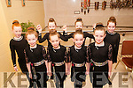 Scor na bPaisti: Taking part in the Scor na bPaisti 2016 at the Tintean Theatre, Ballybunion on Sunday last were the Rince Foirne dancers from Causway. Front : Kacey Dineen, Shawna Quinlan, Bridin Purcell & Jade Lynch. Back : Kayleigh Elbell, Niamh Barrett, Donna Kiely & Amilee Callaghan.