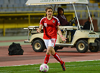 20180228 - LARNACA , CYPRUS : Austrian Laura Feiersinger pictured during a women's soccer game between Spain and Austria , on wednesday 28 February 2018 at GSZ Stadium in Larnaca , Cyprus . This is the first game in group B for Spain and Austria during the Cyprus Womens Cup , a prestigious women soccer tournament as a preparation on the World Cup 2019 qualification duels. PHOTO SPORTPIX.BE | DAVID CATRY