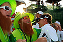 IAN POULTER of the European Ryder Cup Team and fans after the sunday singles of the 37th Ryder Cup Matches, September 16 - 21, 2008 played at Valhalla Golf Club, Louisville, Kentucky, USA ( Picture by Phil Inglis ).... ......