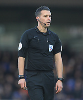 Referee Dean Whitestone<br /> <br /> Photographer Kevin Barnes/CameraSport<br /> <br /> The EFL Sky Bet League One - AFC Wimbledon v Blackpool - Saturday 29th December 2018 - Kingsmeadow Stadium - London<br /> <br /> World Copyright &copy; 2018 CameraSport. All rights reserved. 43 Linden Ave. Countesthorpe. Leicester. England. LE8 5PG - Tel: +44 (0) 116 277 4147 - admin@camerasport.com - www.camerasport.com