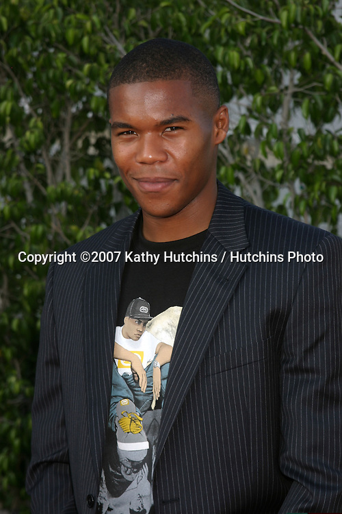 Gaius Charles.NBC TCA Summer Press Tour Party.Beverly Hilton Hotel Parking Structure Rooftop.Beverly Hills, CA.July 17, 2007.©2007 Kathy Hutchins / Hutchins Photo....