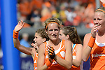 The Hague, Netherlands, June 14: Carlien Dirkse van den Heuvel #9 of The Netherlands walks the lap of honor before the prize giving ceremony on June 14, 2014 during the World Cup 2014 at Kyocera Stadium in The Hague, Netherlands.  (Photo by Dirk Markgraf / www.265-images.com) *** Local caption ***