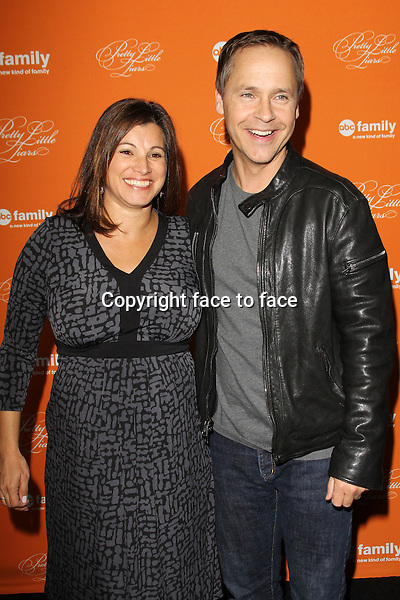 "Chad Lowe and wife Kim Painter at the ""Pretty Little Liars"" Halloween episode premiere at Hollywood Forever Cemetary on October 16, 2012 in Hollywood, California. ..Credit: MediaPunch/face to face..- Germany, Austria, Switzerland, Eastern Europe, Australia, UK, USA, Taiwan, Singapore, China, Malaysia and Thailand rights only -"