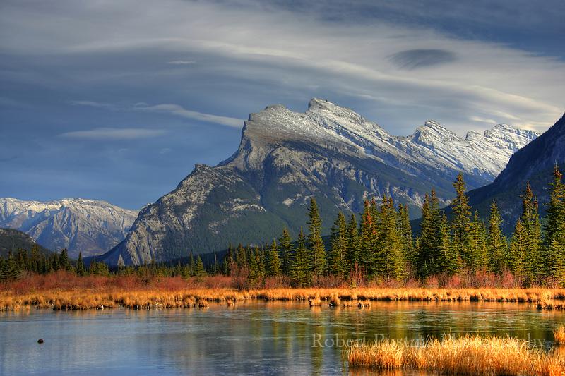 Mount Rundle, Banff National Park.