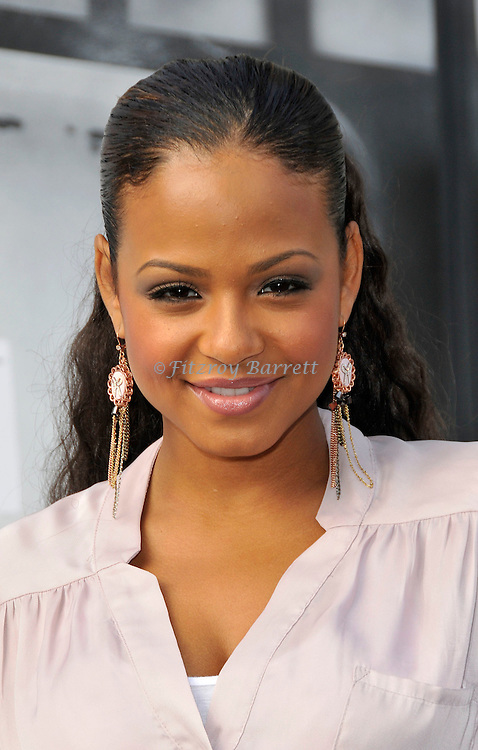 Christina Milian at the World Premiere of IRIS A Journey Onto The World of Cinema by Cirque Du Soleil at the Kodak Theater Hollywood, CA. September 25, 2011