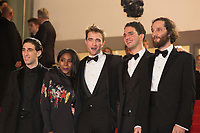 Buddy Duress, Robert Pattinson, Joshua Safdie, Ben Safdie, Taliah Webster at the premiere of 'Good Time' at the 70th Festival de Cannes. <br /> May 25, 2017 Cannes, France<br /> Picture: Kristina Afanasyeva / Featureflash