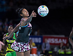 Fast5 2017<br /> Fast 5 Netball World Series<br /> Hisense Arena Melbourne<br /> Match <br /> Sth Arica v Jamaica<br /> Lauren -Lee Christians<br /> <br /> <br /> <br /> Photo: Grant Treeby
