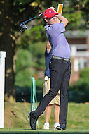 Bethesda, MD - July 1, 2017: Kyle Reifers in action during Round 3 of professional play at the Quicken Loans National Tournament at TPC Potomac in Bethesda, MD, July 1, 2017.  (Photo by Elliott Brown/Media Images International)