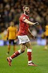 Nathan Baker of Bristol City - Football - Wolverhampton Wanderers vs Bristol City - Molineux Wolverhampton - Sky Bet Championship - 8th March 2016 - Season 2015/2016 - Picture Malcolm Couzens/Sportimage