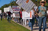 Occupy Orange County - Nov. 5 Marching