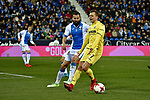 Leganes vs Villarreal Denis Cheryshev offside during Copa del Rey match. 20180104.