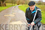 Denis O'Brien, Killarney, who is only partially sighted, is looking for improvements to be made to the road surfaces of the Killarney National Park.