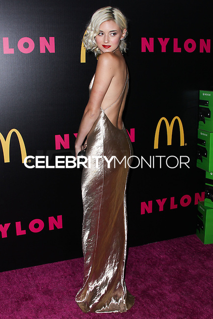 WEST HOLLYWOOD, CA - DECEMBER 05: Caroline D'Amore arriving at the Nylon Magazine December 2013/January 2014 Cover Launch Party held at Quixote Studios on December 5, 2013 in West Hollywood, California. (Photo by Xavier Collin/Celebrity Monitor)