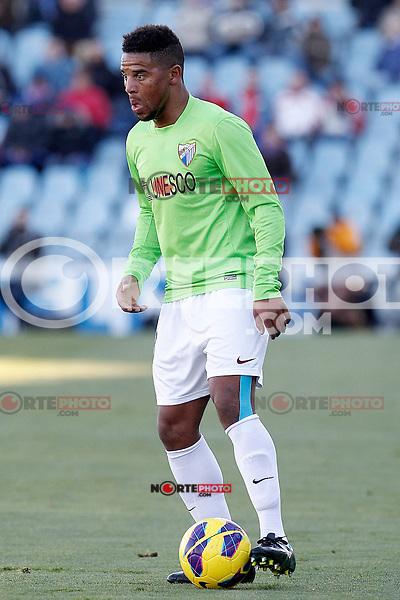 Malaga's Eliseu Pereira during La Liga match.December 01,2012. (ALTERPHOTOS/Acero) ©/NortePhoto