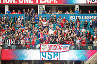 Jacksonville, FL - Thursday, April 05, 2018: Fans during a friendly match between USA and Mexico at EverBank Stadium.  USA defeated Mexico 4-1.