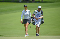 Michelle Wie (USA) approaches her ball on the green on 10 during round 1 of the 2018 KPMG Women's PGA Championship, Kemper Lakes Golf Club, at Kildeer, Illinois, USA. 6/28/2018.<br /> Picture: Golffile | Ken Murray<br /> <br /> All photo usage must carry mandatory copyright credit (&copy; Golffile | Ken Murray)