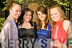 Belles of the Ball - Enjoying themselves at the Debs Ball held in The Abby Gate Hotel on Saturday evening were l/r Laura Ni? Choistealla, Niamh Scott, Si?le Ni? Choincheannain and Fiona Kennedy..