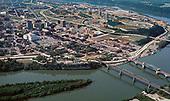 Chattanooga Historic 1975 aerial photo