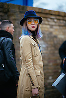 Irene Kim at London Fashion Week (Photo by Hunter Abrams/Guest of a Guest)