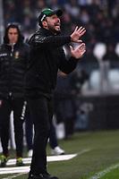 Roberto De Zerbi of US Sassuolo <br /> Torino 1-12-2019 Juventus Stadium <br /> Football Serie A 2019/2020 <br /> Juventus FC - US Sassuolo 2-2 <br /> Photo Federico Tardito / Insidefoto