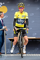 LIEGE, BELGIUM - JULY 2 : THOMAS Geraint (GBR) Rider of Team SKY during stage 2 of the 104th edition of the 2017 Tour de France cycling race, a  stage of 203 kms between Dusseldorf and Liege on July 02, 2017 in Liege, Belgium, 2/07/2017<br /> Ciclismo Tour De France 2017 <br /> Foto Photonews / Panoramic / Insidefoto <br /> ITALY ONLY