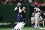 Seiji Kobayashi (JPN), <br /> MARCH 12, 2017 - WBC : <br /> 2017 World Baseball Classic <br /> Second Round Pool E Game <br /> between Japan 8-6 Netherlands <br /> at Tokyo Dome in Tokyo, Japan. <br /> (Photo by YUTAKA/AFLO SPORT)