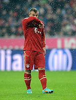 FUSSBALL   1. BUNDESLIGA  SAISON 2012/2013   9. Spieltag FC Bayern Muenchen - Bayer 04 Leverkusen    28.10.2012 Xherdan Shaqiri (FC Bayern Muenchen)