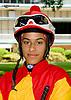 Carol Cedeno at Delaware Park racetrack on 6/16/14
