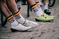 fine looking Belgian Cycling socks<br /> <br /> 2nd Elfstedenronde 2018<br /> 1 day race: Brugge - Brugge 196.3km
