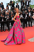 "CANNES, FRANCE. May 21, 2019: Karolina Kurkova at the gala premiere for ""Once Upon a Time in Hollywood"" at the Festival de Cannes.<br /> Picture: Paul Smith / Featureflash"