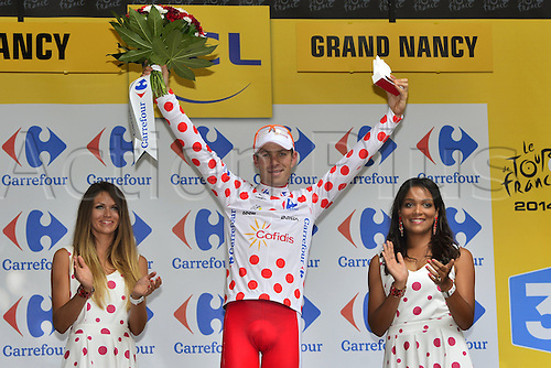 11.07.2014. Eperney to nancy, France. Tour de France cycling tour.  LEMOINE Cyril (FRA - COFIDIS, SOLUTIONS CREDIT)