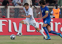 Domonick Sarle. Italy defeated the US Under-17 Men's National Team 2-1 in Kaduna, Nigera on November 4th, 2009.