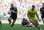DJ Forbes. The All Blacks Sevens beat Australia 24-10. London, England. Photo: Marc Weakley