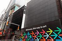 NOVA YORK, EUA, 10.01.2019 - TURISMO-EUA - Faixada do MoMA (Museu de Arte Moderna de Nova York) é visto na Ilha de Manhattan na cidade de Nova York nos Estados Unidos nesta quinta-feira, 10. (Foto: William Volcov/Brazil Photo Press)