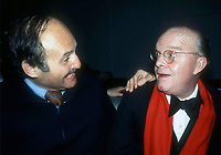 New York, NY<br />1978 <br />Lester Persky and Truman Capote at Studio 54<br />Credit:  Adam Scull-PHOTOlink/MediaPunch