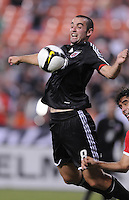 DC United midfielder Andrew Jacobson (8).  Toluca FC defeated DC United 3-1in the Concacaf Champions League tournament,at RFK Stadium Wednesday, August 26  2009.