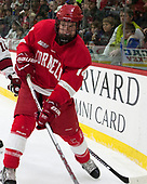 Mitch Vanderlaan (Cornell - 14) - The Harvard University Crimson defeated the visiting Cornell University Big Red on Saturday, November 5, 2016, at the Bright-Landry Hockey Center in Boston, Massachusetts.