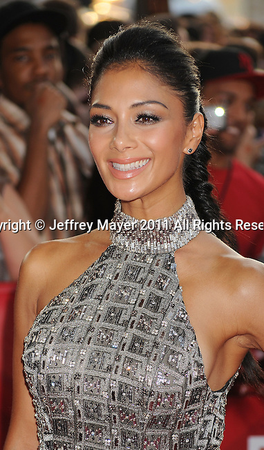 "HOLLYWOOD CA - SEPTEMBER 14: Nicole Scherzinger attends the ""The X Factor"" World Premiere Screening at ArcLight Cinemas on September 14, 2011 in Hollywood, California."