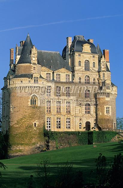 Europe/France/Pays de la Loire/49/Maine-et-Loire/Brissac: Le château